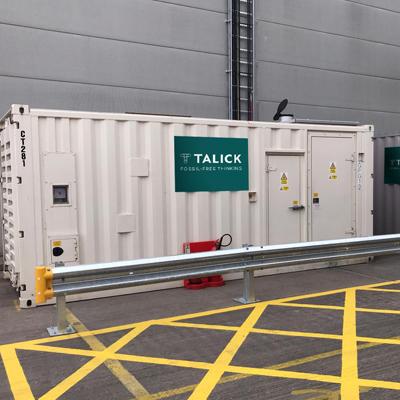 Talick generator on site