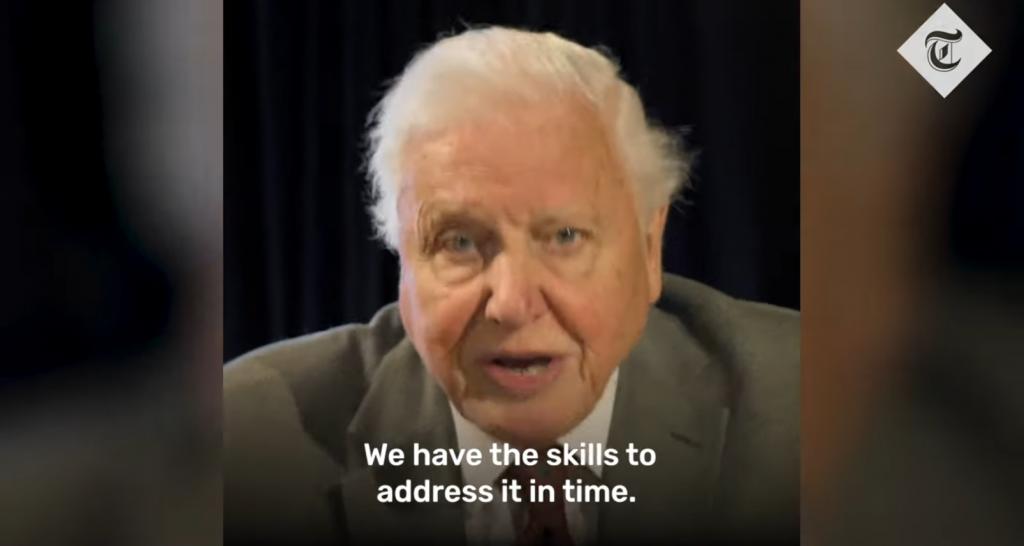David Attenborough ugung G7 leaders to prioritise climate emergency